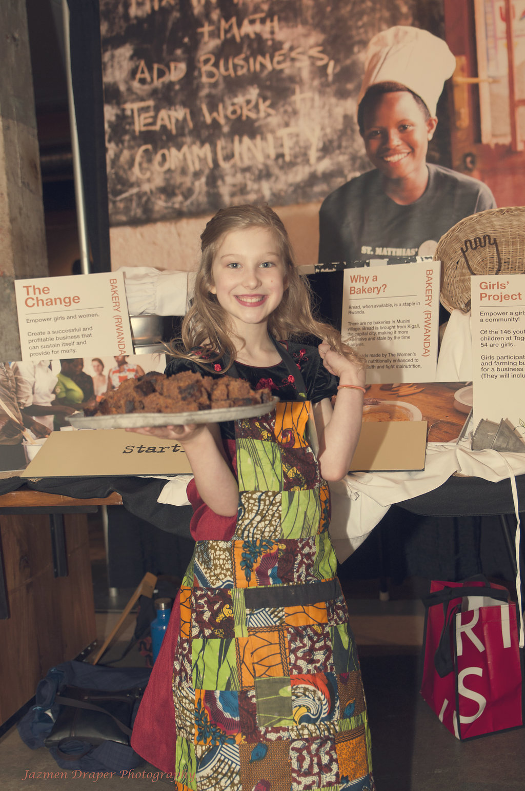 Grace, our very first bakery champion!